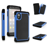 Triple Layer Defender Back Case for LG Google Nexus 5