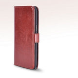 Executive Brown Samsung Galaxy Note 2 N7100 Wallet Leather Case