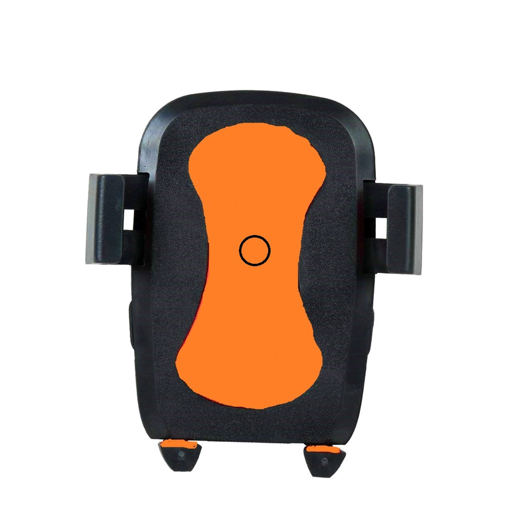 Bracevor Universal Bike Mount Motorcycle Mobile Holder for All Smartphones - Orange