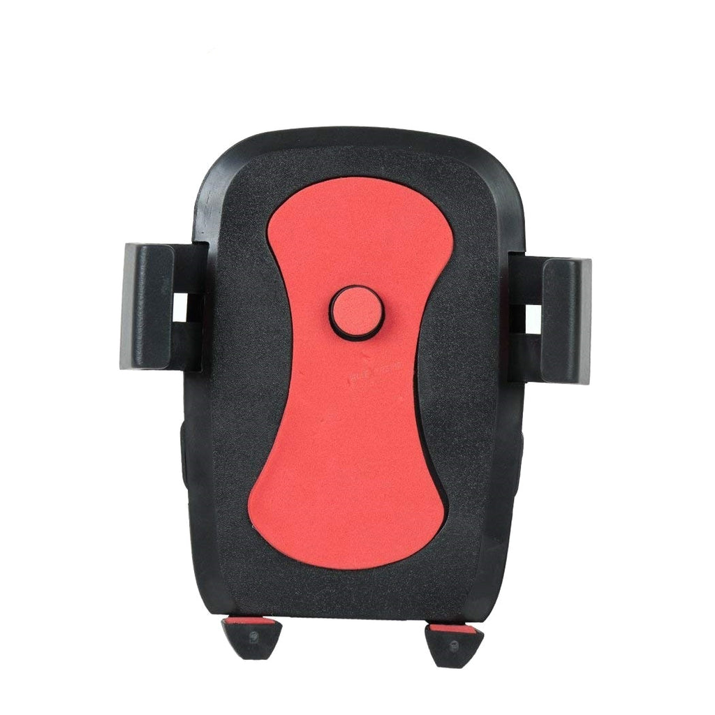 Bracevor Universal Bike Mount Motorcycle Mobile Holder for All Smartphones - Red