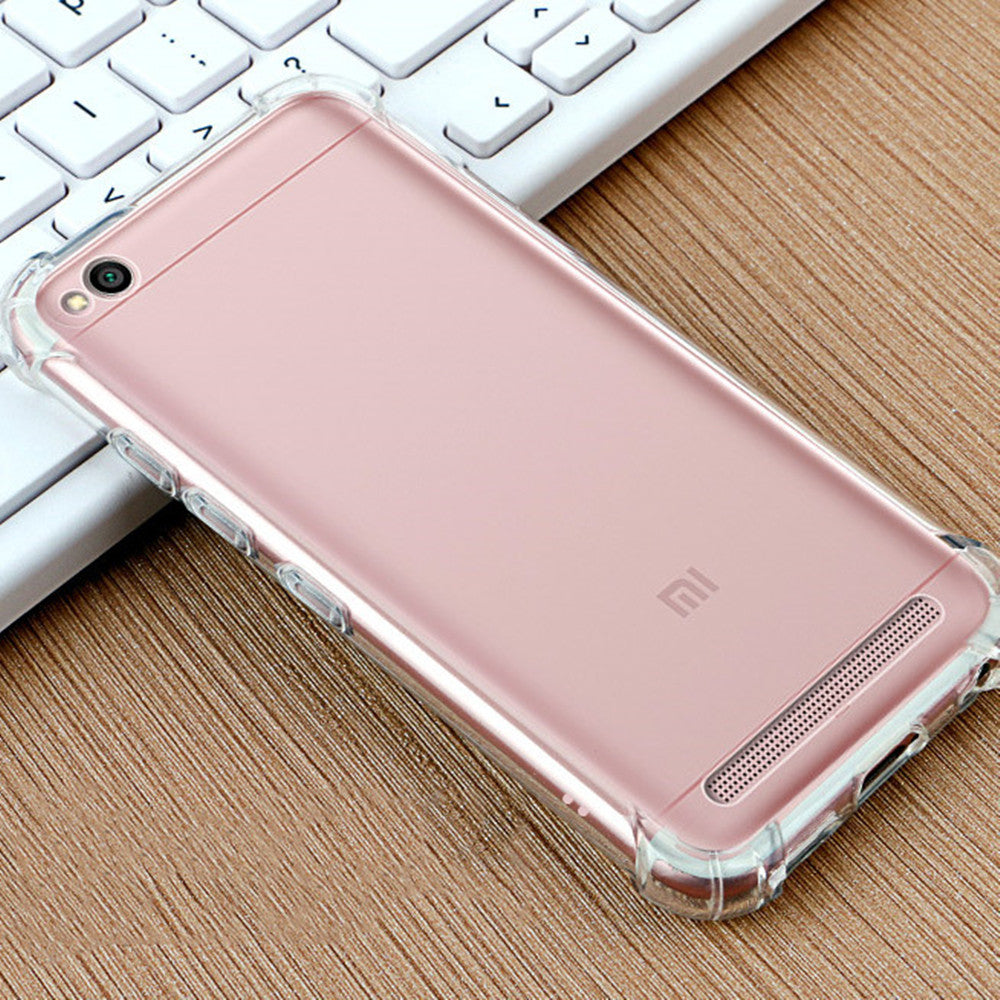 online store bf768 a044d Xiaomi Redmi 5A Back Case Cover | Flexible Shockproof Tpu ...