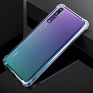 Bracevor Huawei P20 Pro Flexible Shockproof TPU Back Case Cover | Ultimate Edge Protection | Cushioned Edges | Anti Slip | Premium Design - Transparent