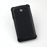 Triple Layer Defender Back Case for Samsung Galaxy S3 i9300 - Black