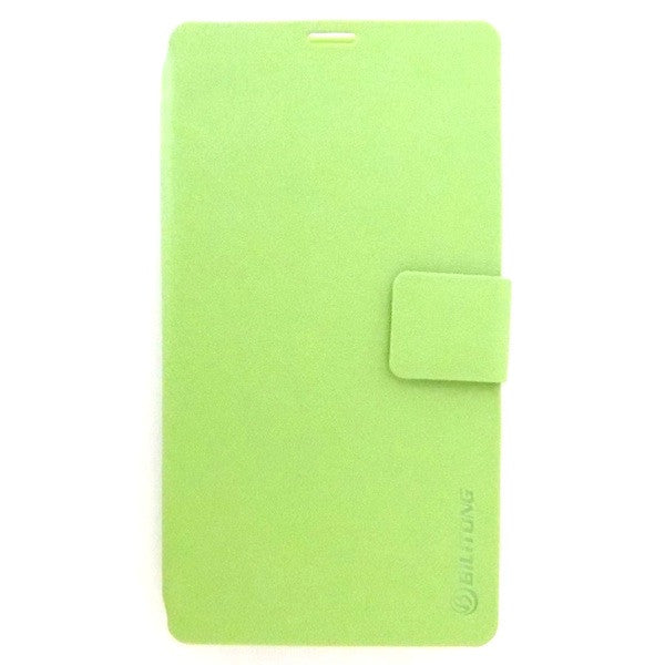 Bracevor Silk Pattern Leather Wallet Case for Sony Xperia Z1 L39H - Green1