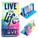 Life Design Wallet Leather Flip Case for Sony Xperia Z1 L39H