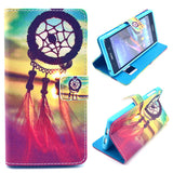 Dream Catchers Design Wallet Leather Flip Case for Sony Xperia Z1 L39H