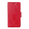 Bracevor Executive Leather Wallet Case Cover for Sony Xperia Z1 L39H - Red