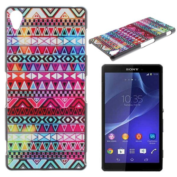 Bracevor Aztec Art Design Hard Back Case Cover for Sony Xperia Z1 L39H