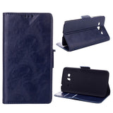 Bracevor Wallet Stand Leather Case for Samsung Galaxy Grand 2 (Black)