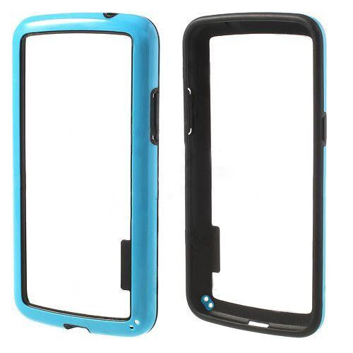 Bracevor Slim PC, TPU Hybrid Bumper Case for Samsung Galaxy Grand 2 - Blue