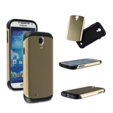 Champagne Gold Tough Armor Back Case for Samsung Galaxy S4 i9500