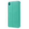 Bracevor Roar Korea Diary View Window Leather Magnetic Stand Case - Cyan