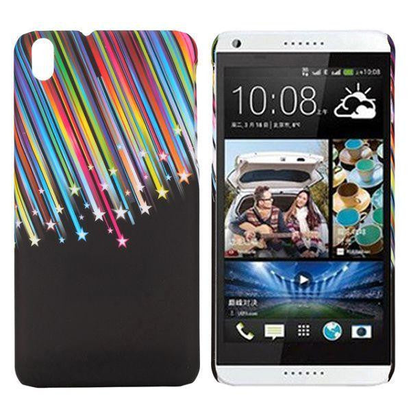 Bracevor Meteor Streaks Design hard back case cover for HTC Desire 816