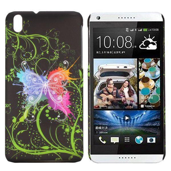 Bracevor Avatar Butterfly Design hard back case cover for HTC Desire 816