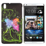Avatar Butterfly Design hard back case cover for HTC Desire 816