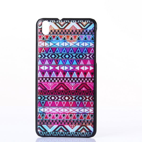 Bracevor Tribal Aztec Art Design Hard Back Case Cover for HTC Desire 816