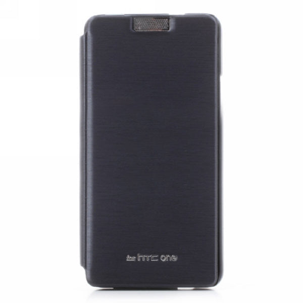 Mercury Goospery Techno Wallet Leather Flip Cover for HTC One M7 801e (Black)