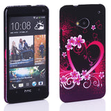 Avatar Hearts design Hard Back case for HTC One M7 801e