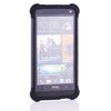 Bracevor Triple Layer Defender Back Case for HTC One M7 801e - Grey