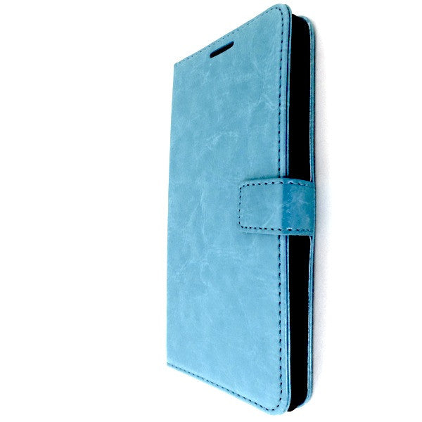 Bracevor Blue HTC Desire 816 Wallet Leather Case 1