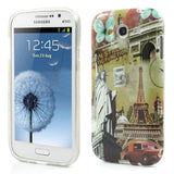 Eiffel Tower Design TPU Back Case Cover for Samsung Galaxy Grand Duos