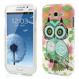 Trendy Owl Design TPU Back Case Cover for Samsung Galaxy Grand Duos