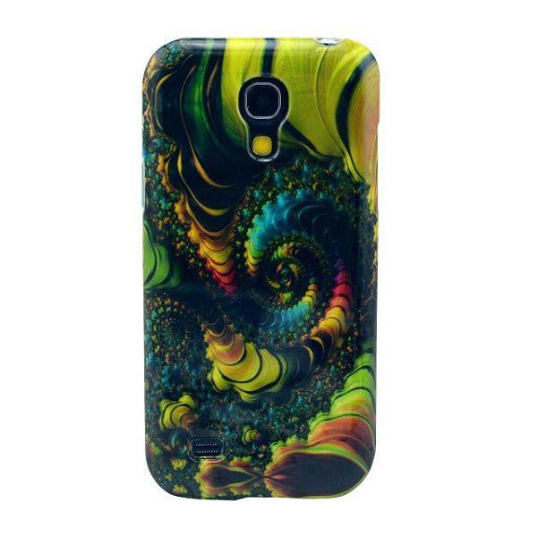 Bracevor Mysterious Pattern TPU Back Case Cover for Samsung Galaxy S4 mini i9190 i9192