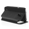 Smart Window View  Leather Stand Flip Case for Samsung Galaxy S4 mini