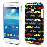 Colorful Moustache design Hard Back Case Cover for Samsung Galaxy S4 mini