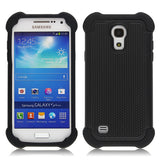 Triple Layer Defender Back Case for Samsung Galaxy S4 mini - Black