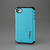 Blue Super Hybrid 2 in 1 Back Case for Apple iPhone 4 4s