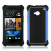 Triple Layer Defender Back Case for HTC One M7 (Dual Sim)