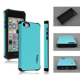 Super Hybrid 2 in 1 Back Case for Apple iPhone 5c - Blue