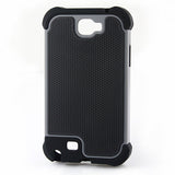 Triple Layer Defender Back Case for Samsung Galaxy Note 2 N7100 - Grey