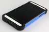 Bracevor Triple Layer Defender Back Armor Case Cover for Blackberry Z10 - Blue