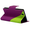 Bracevor Dual color Wallet Stand Leather Case for Sony Xperia Z L36H Green5