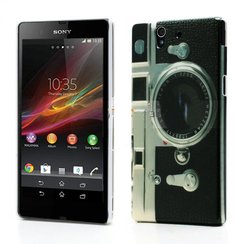 Bracevor Classic Camera  Design Hard Back case for Sony Xperia Z L36H