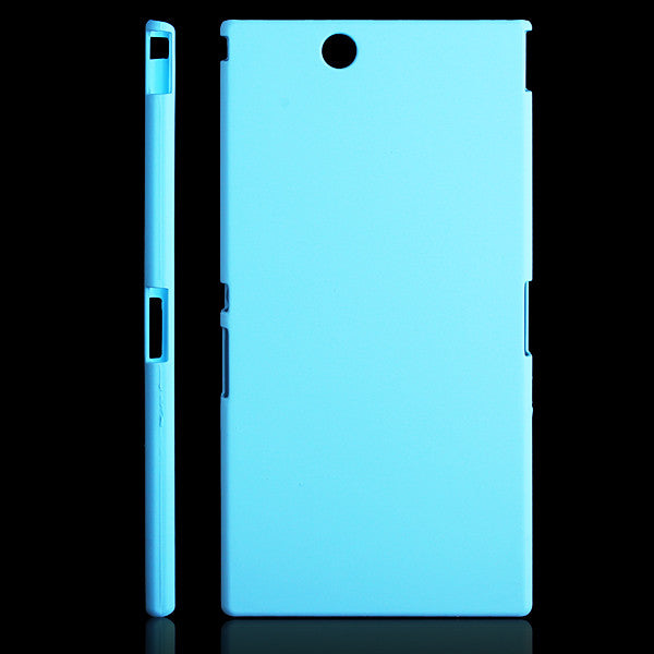 new style 0027e 1fcb1 Hard Back Case Cover for Sony Xperia Z Ultra C6806 XL39h - Blue
