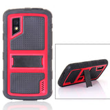 Bracevor 2 in 1 hybrid  Kickstand Case for LG Google Nexus 4 - Red