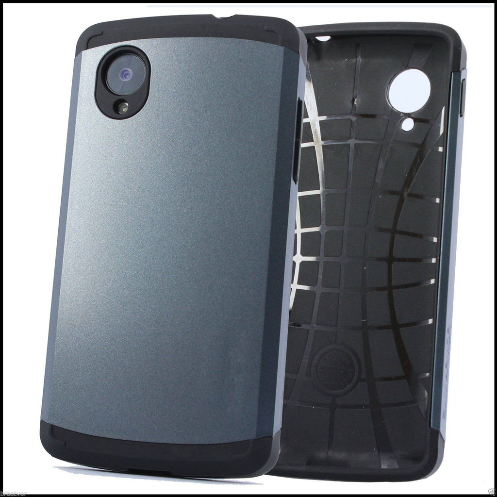 Matte grey Lg Nexus 5 back case