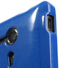 Bracevor Mercury Jelly Glitter TPU Gel Case for Sony Xperia SP (Blue) 2