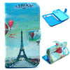 Bracevor Eiffel Tower Design Wallet Leather Flip case Cover for Motorola Moto X XT1058 XT1060