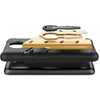 Motorola Moto C Plus Back Case Cover Hybrid 360 Rotating Kickstand - Black