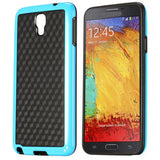 Stylish Football Cube Back Case for Samsung Galaxy Note 3 Neo - Blue