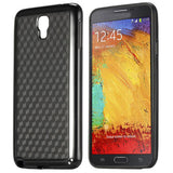 Stylish Football Cube Back Case for Samsung Galaxy Note 3 Neo - Black