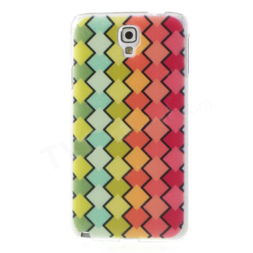Bracevor Rhombus Design Hard Back Case Cover for Samsung Galaxy Note 3 Neo 1
