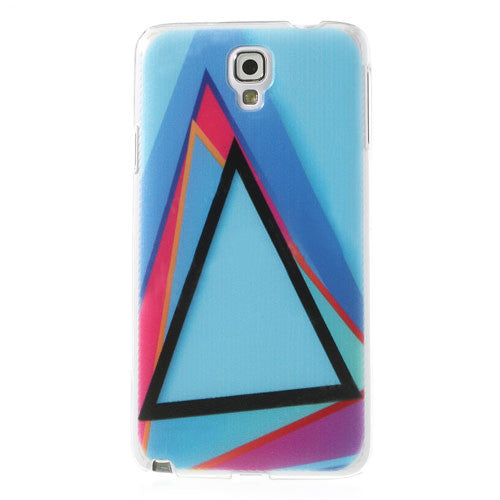 Bracevor Triangles Design Hard Back Case Cover for Samsung Galaxy Note 3 Neo
