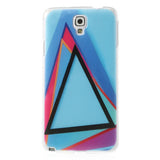 Triangles Design Hard Back Case Cover for Samsung Galaxy Note 3 Neo