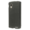 Bracevor Mercury Wow Bumper Hybrid View Case for LG Google Nexus 5 D820 D821 - Black 2