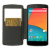 Bracevor Mercury Wow Bumper Hybrid View Case for LG Google Nexus 5 D820 D821 - Black 3